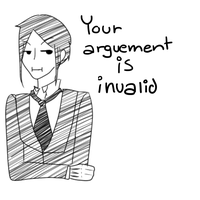 Your argument is invalid by HokiMaru