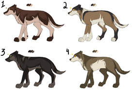 Point adopt - Canines 8 by Kaeda-adoptables