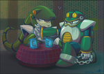 Snakes and Toads by Humblebot