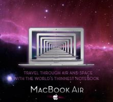 MacBook Air Contest 2 by turnpaper