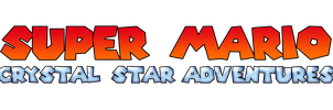 Super Mario Crystal Star Adventures Logo by KingAsylus91