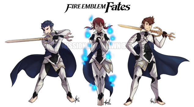 Fire Emblem: The Corrins of Three Fates by ky-nim
