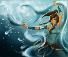 KORRA by MajoraEmpress