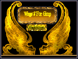 Wings 3 For Gimp by blueeyedmagickman