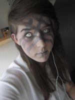 Skyrim Nord make-up test? (WIP) by SophieSmoore