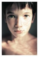 A boy by Ciril