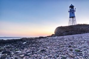 Portishead lighthouse by CharmingPhotography