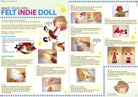 Make your own Felt-Indie Doll by squishypuff