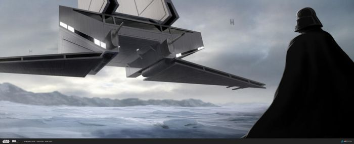 Hoth Landing - The Ride Vehicle Design by KarlLevy