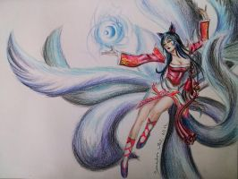 Classic Ahri - League of Legends by SonadorArt