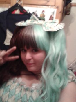 Mint Chocolate chip lolita by LabyrinthLadyLover