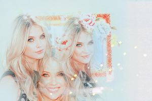 Ashley benson by PaperCrownnn