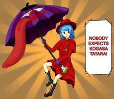 Nobody Expects The Karakasa! by Shinichi-Toramaru