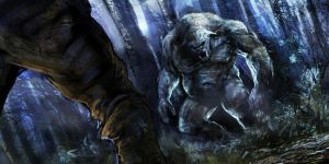 Troll attack speedpainting by CyrilT