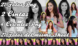 Pack Fotos Png de Selena Gomez by AnyCuervaEditions