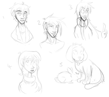 Some more doodlesss by Foreveryoung8