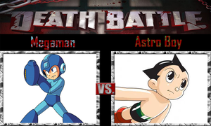 Megaman vs Astro Boy by SonicPal