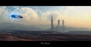 The Arrival by Hst-77