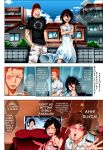 Bleach ( full manga page colored ) by RayanArts