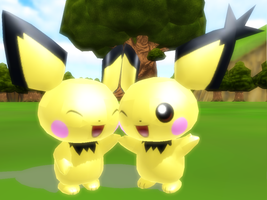 Pichu .:Download:. by SureinDragon