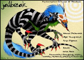 Psychoraptor JailBreak by ghost-eye