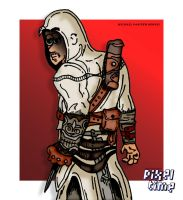 Pre-Comic Character Preview - Altair by michaelheuvel