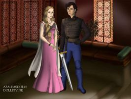 Aurora and Damion Game of thrones by Colleen15