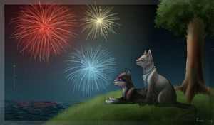 -Happy new year 2011- by Finchwing