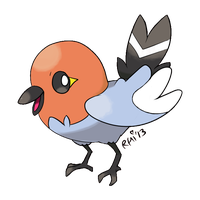 Fletchling by Chaowzee