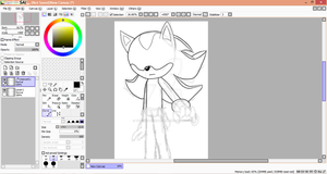 Paint Tool Sai test by TheGreatPikminZX