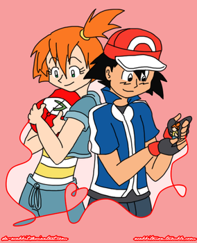 Pokeshipping Week 2015- Red Thread of Fate by Da-Wabbit