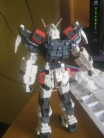 Buster Gundam Progress by Joslau-Designs