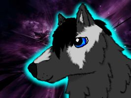 Fluffy Soul Wolf by icewormie
