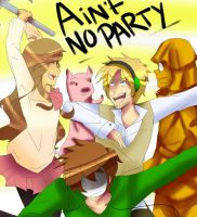 AIN'T NO PARTY LIKE A PEWDIEPIE PARTY by CitrusPencil