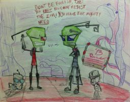 Enough is Enough, Zim... by Catsville1