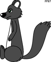 Squirrely side view by FluffyFerret97