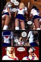 Schoolgirl 3D manga sample by Sandmarine