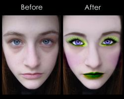 Creating Make Up in Photoshop by SteffiSTEREO