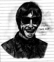 Liam Gallagher, our kid. by MBV-Arkestra
