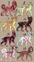 Canine Adopts 1 (SOLD OUT!) by Unstadoptables