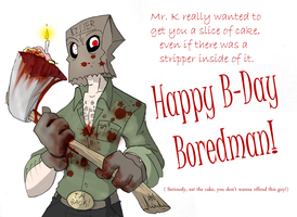 Birthday Cake for Boredman by Inverted-Mind-Inc