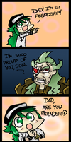 Ghetsis is a Very Loving Dad by Zicygomar