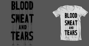 Blood Sweat and Tears by bluffingpots