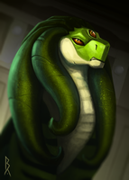 Commission: green by Brevis--art