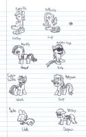 MLP 7 Deadly Sins by uhnevermind
