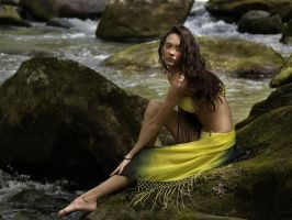 Relaxing By The River by JasmineBelle