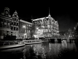 Amsterdam at Night by PhysaliaPhysalis-88