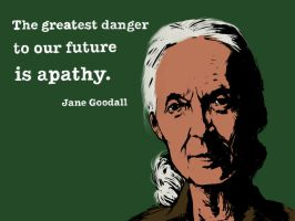 Jane Goodall by DVLArt