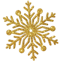 Snowflake Gold1 Kk by KKgraphicdesigner
