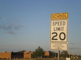 The speed limit is 20 by DakotaBailey